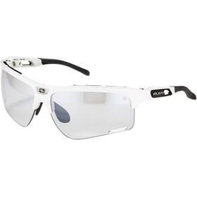 Rudy Project Keyblade Gafas, white gloss/impactX 2 photochromic laserblack
